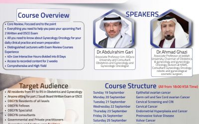 MEWB Gynecology Oncology Comprehensive Intensive Review Course